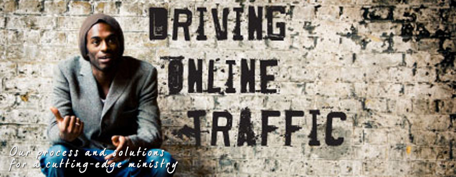 Driving traffic - Web design for an urban ministry
