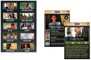 IJM Mobile Application