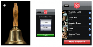 Salvation Army Bell & Mobile Donation App