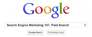 SEM 101: Paid Search