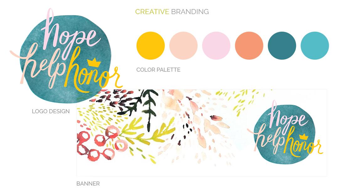 Caris Hope Help Honor 2016 Creative Branding