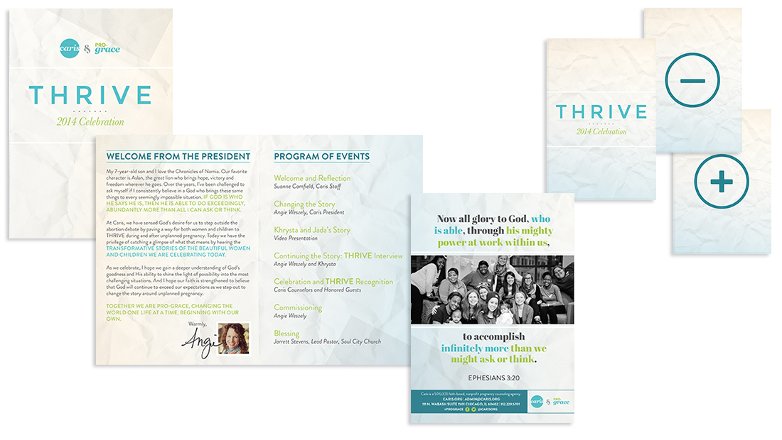THRIVE Event Pieces