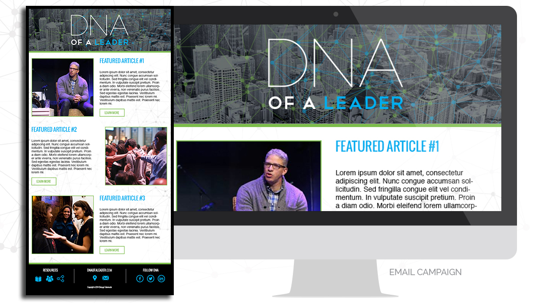dna-of-a-leader-email-campaign-design