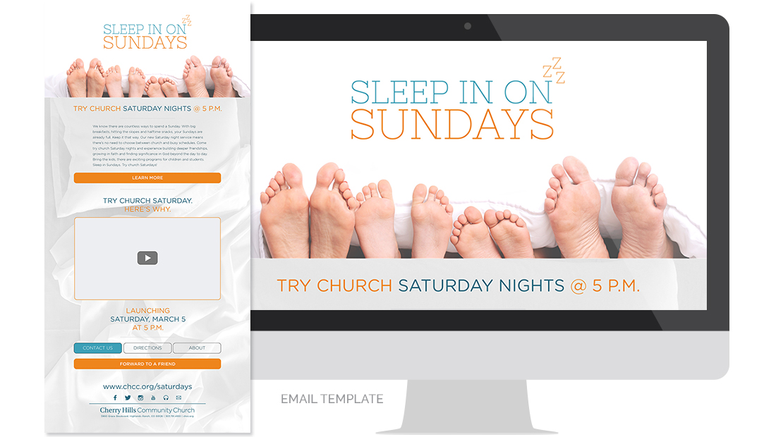 Cherry Hills Community Church Email Design