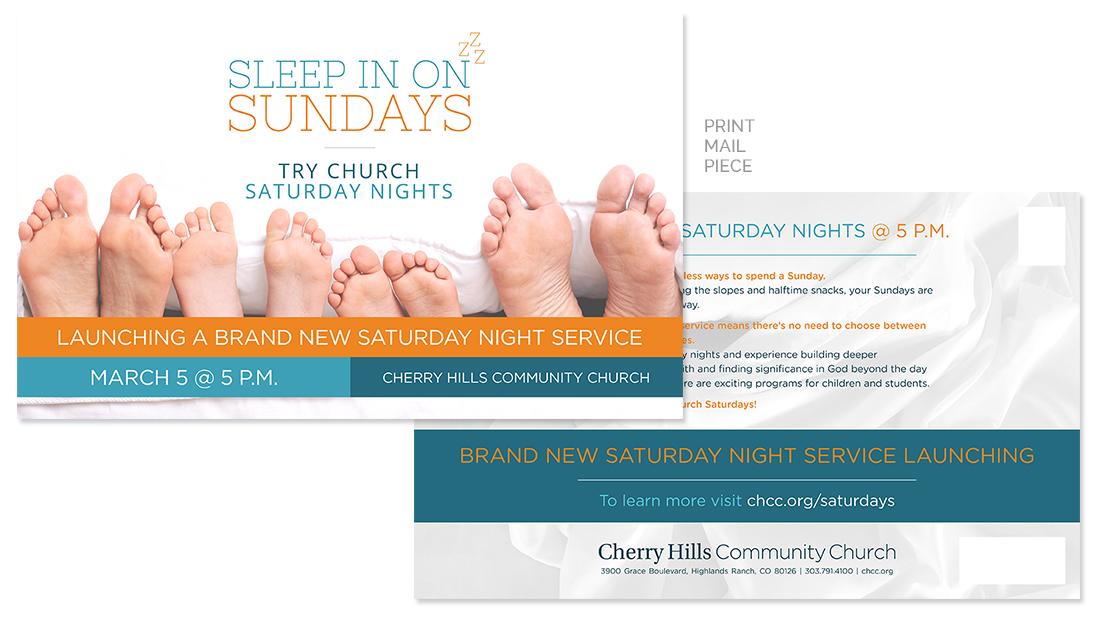 Cherry Hills Community Church Print Mail Piece
