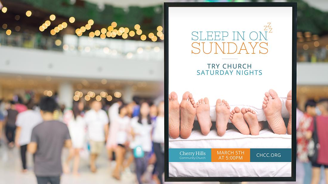 Cherry Hills Community Church Shopping Center Ad