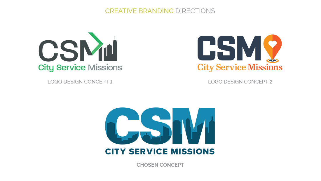 City Service Mission Creative Branding Directions