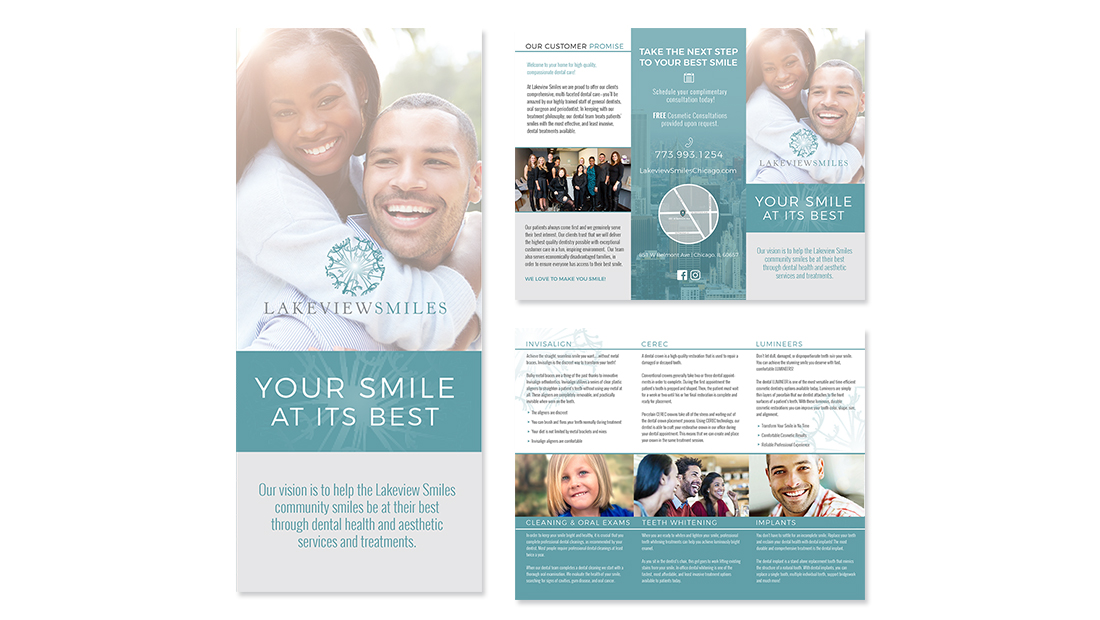 Lakeview Smiles Branding