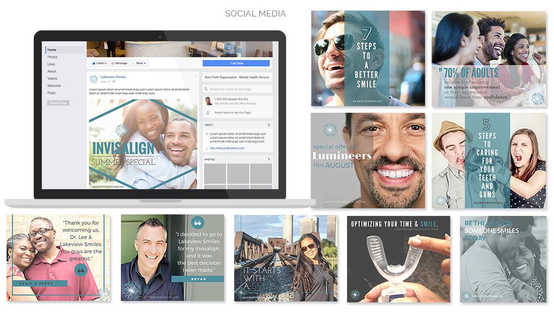 Lakeview Smiles Social Media
