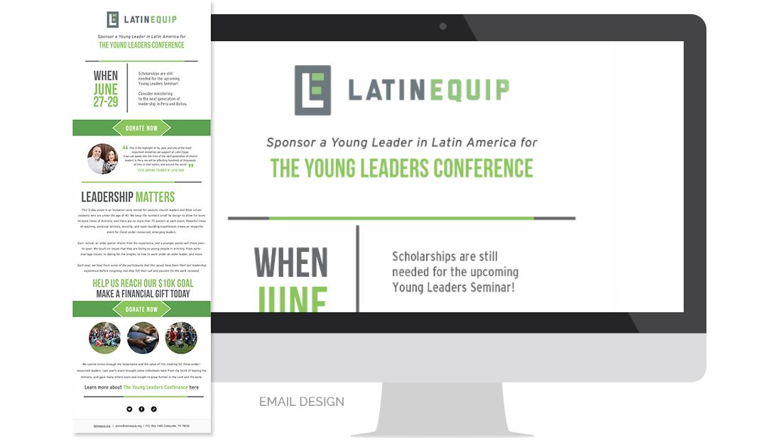 Latin Equip Email Design