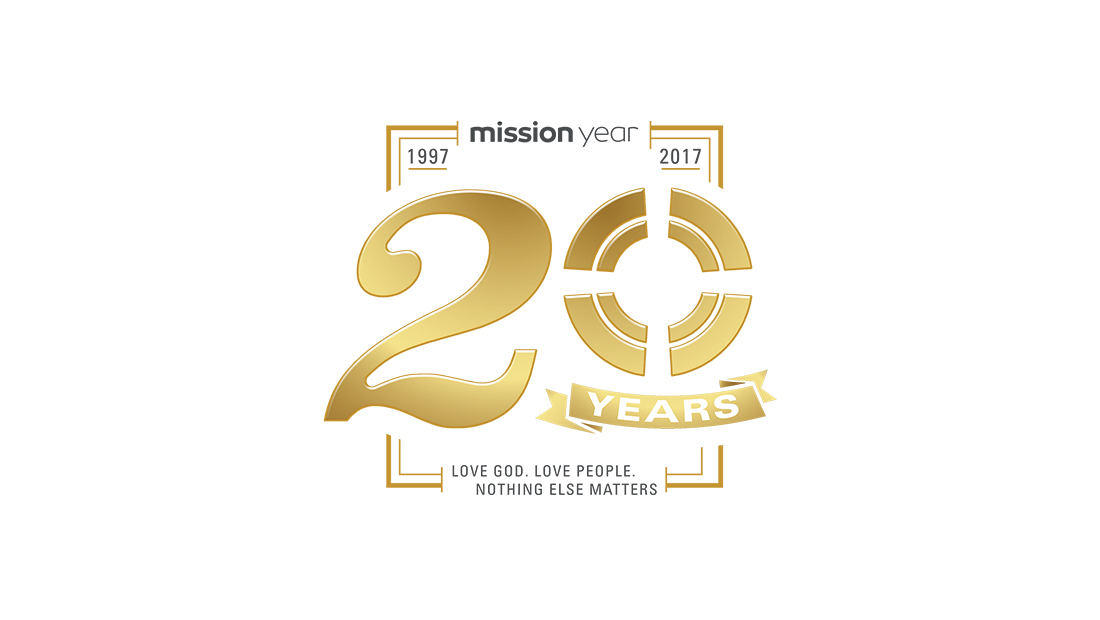 Mission Year 20 Years Branding