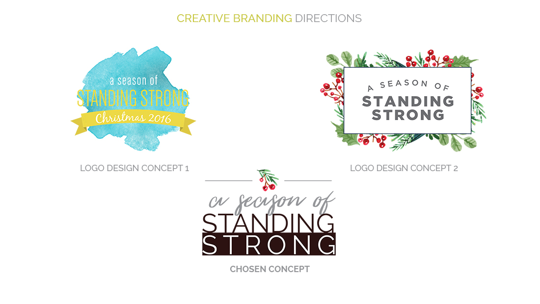 Students Standing Strong Creative Branding Directions