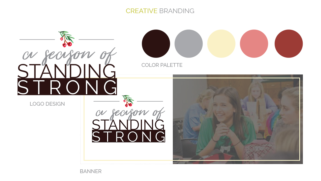 Students Standing Strong Creative Branding