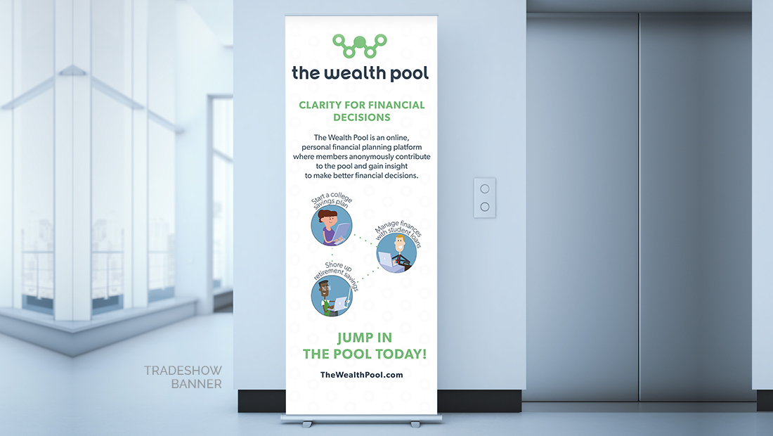 The Wealth Pool Tradeshow Banner