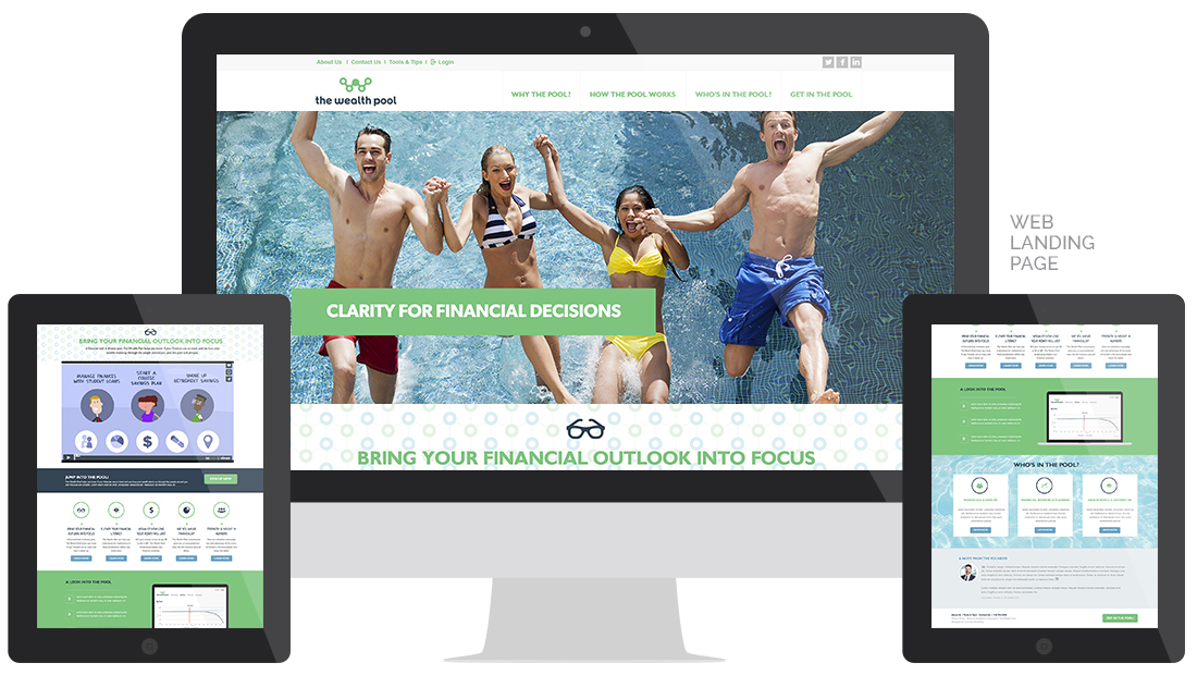 The Wealth Pool Website Design