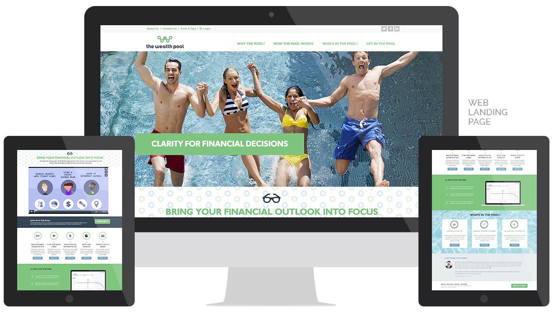 The Wealth Pool Website Design