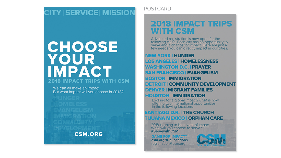 CSM Postcard