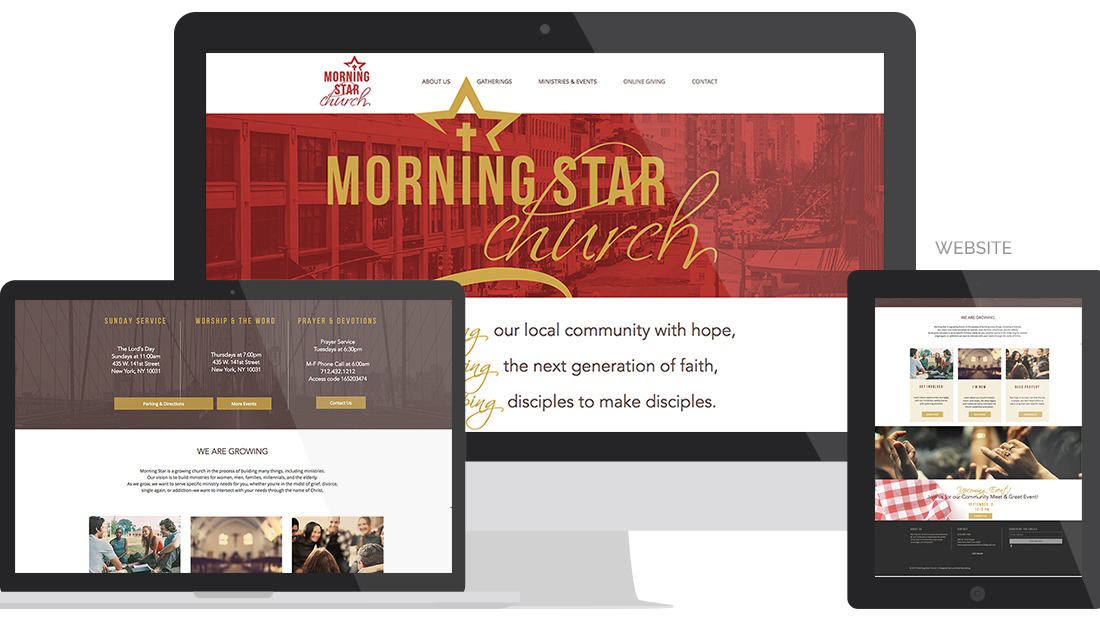 Morning Star Website
